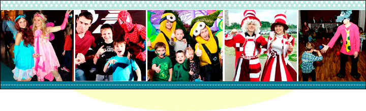 Детские праздники нашей студии
