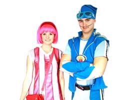 Аниматоры Спортакус и Стефани из Лентяево фото